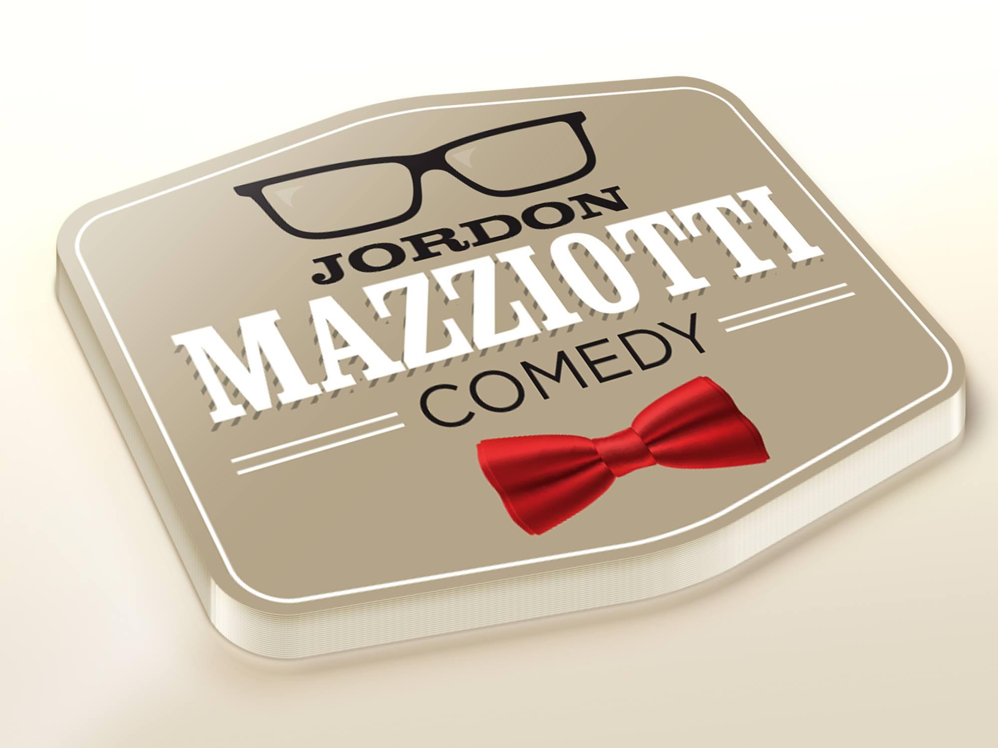 Jordon Mazziotti Comedy Logo