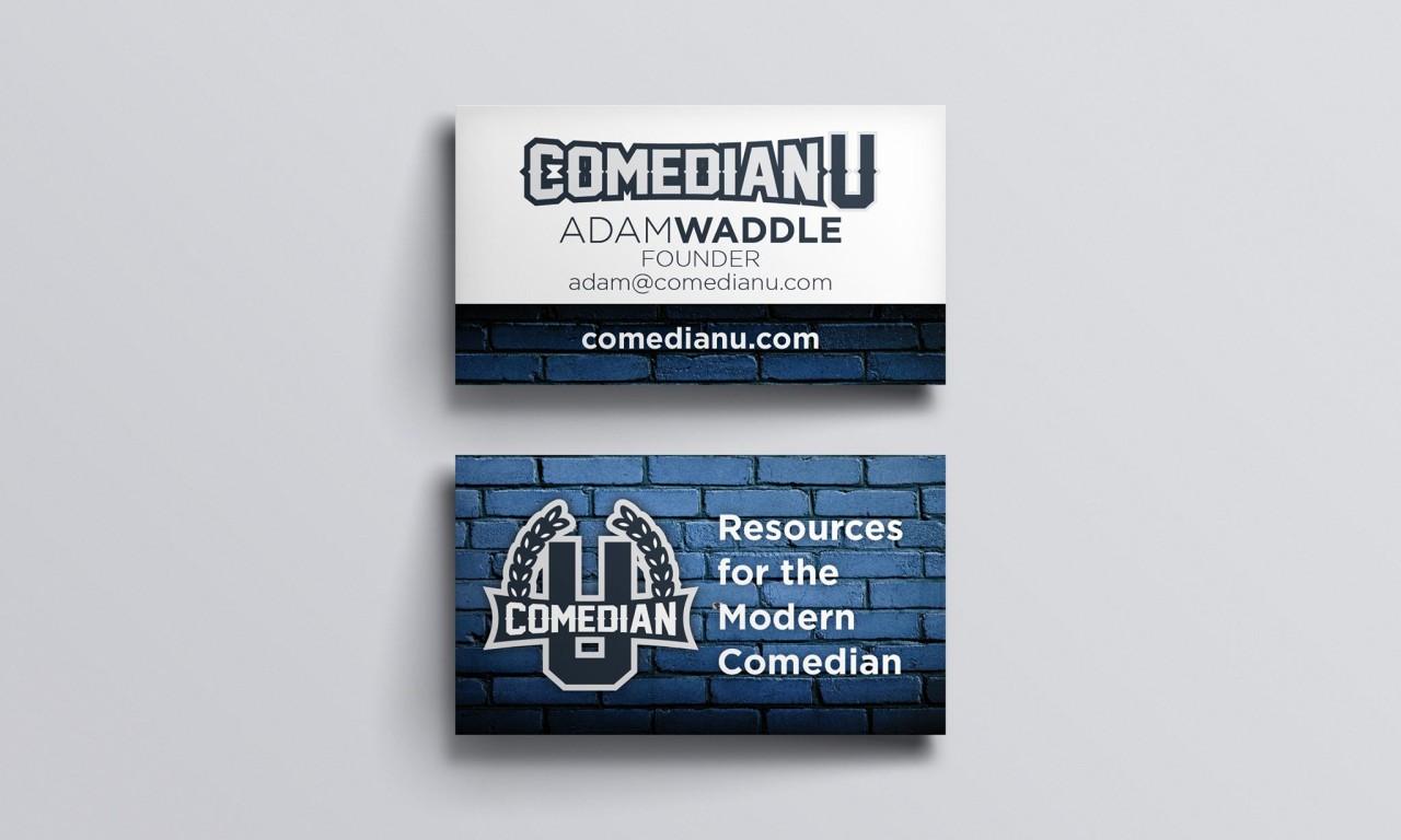 Comedian U Business Cards | It\'s Always Funny in Salt Lake City