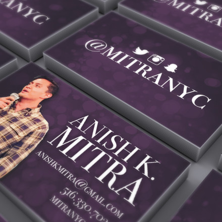 Anish Mitra Business Cards