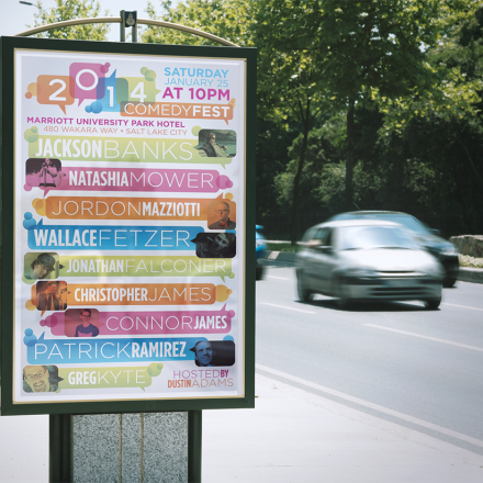 2014 Comedy Fest Poster