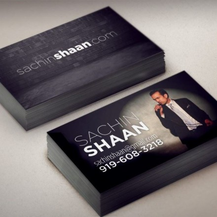 Sachin Shaan Business Cards