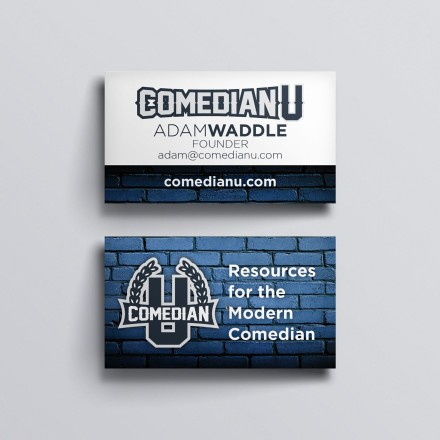Comedian U Business Cards