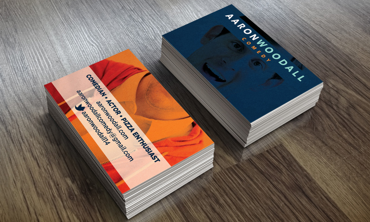 Aaron Woodall Business Cards