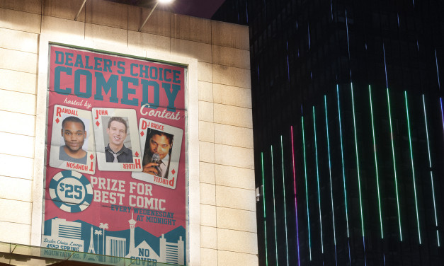 Dealer's Choice Comedy Contest Poster