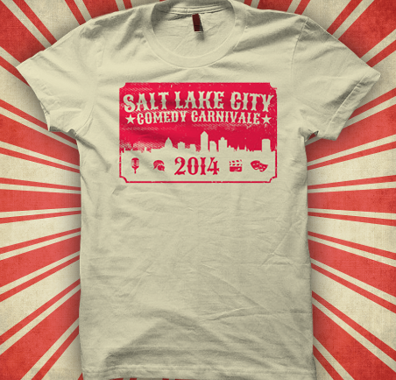 Salt Lake Comedy Carnivale Shirt